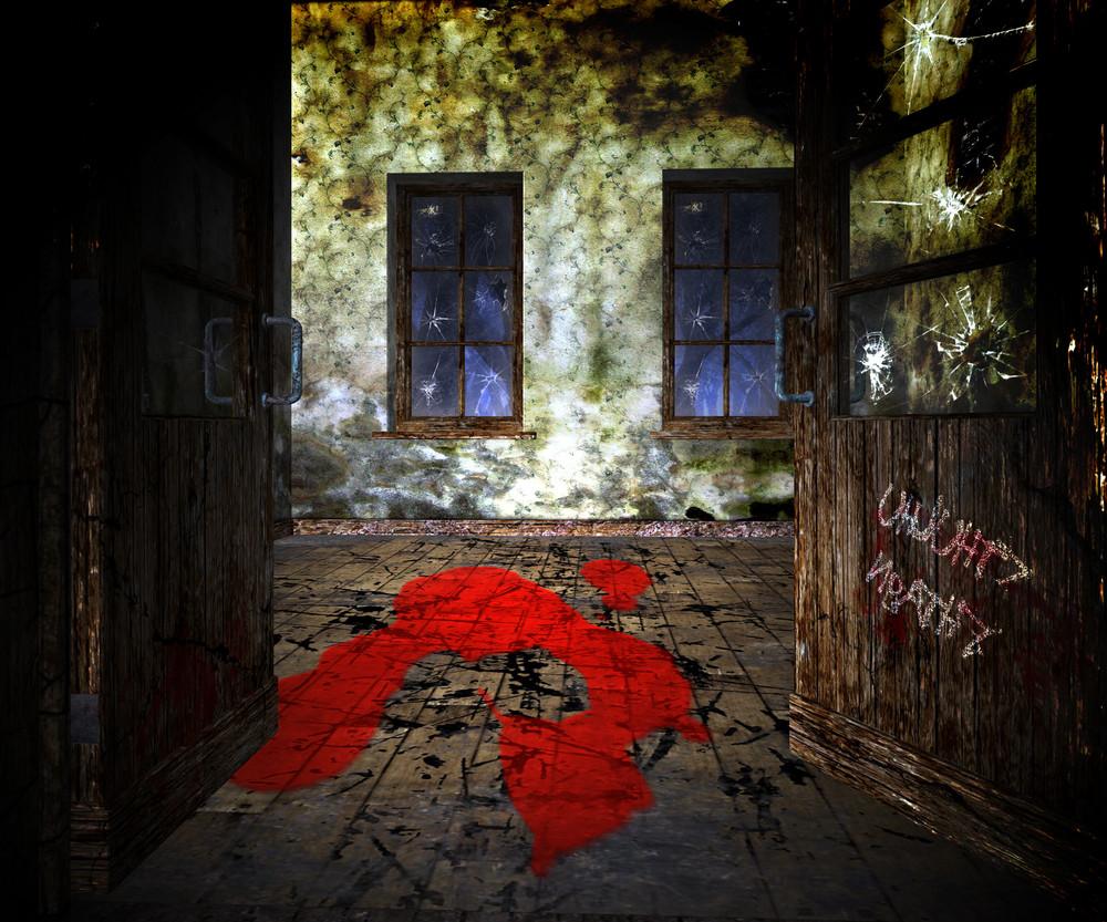 Blood On The Floor Halloween Backgrounds