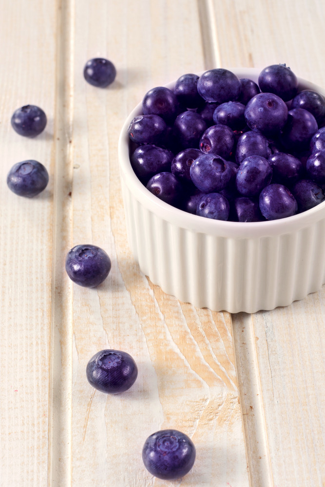 Bluberries In Cup