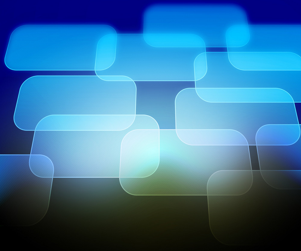 Blue Abstract Computer Background