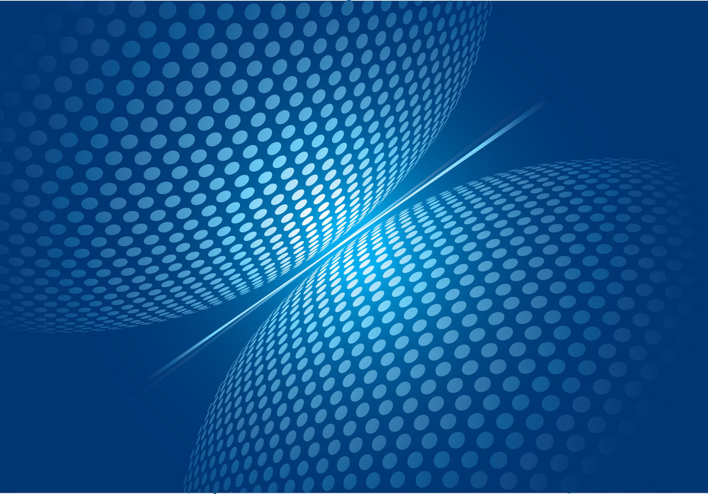 Blue Abstract. Vector