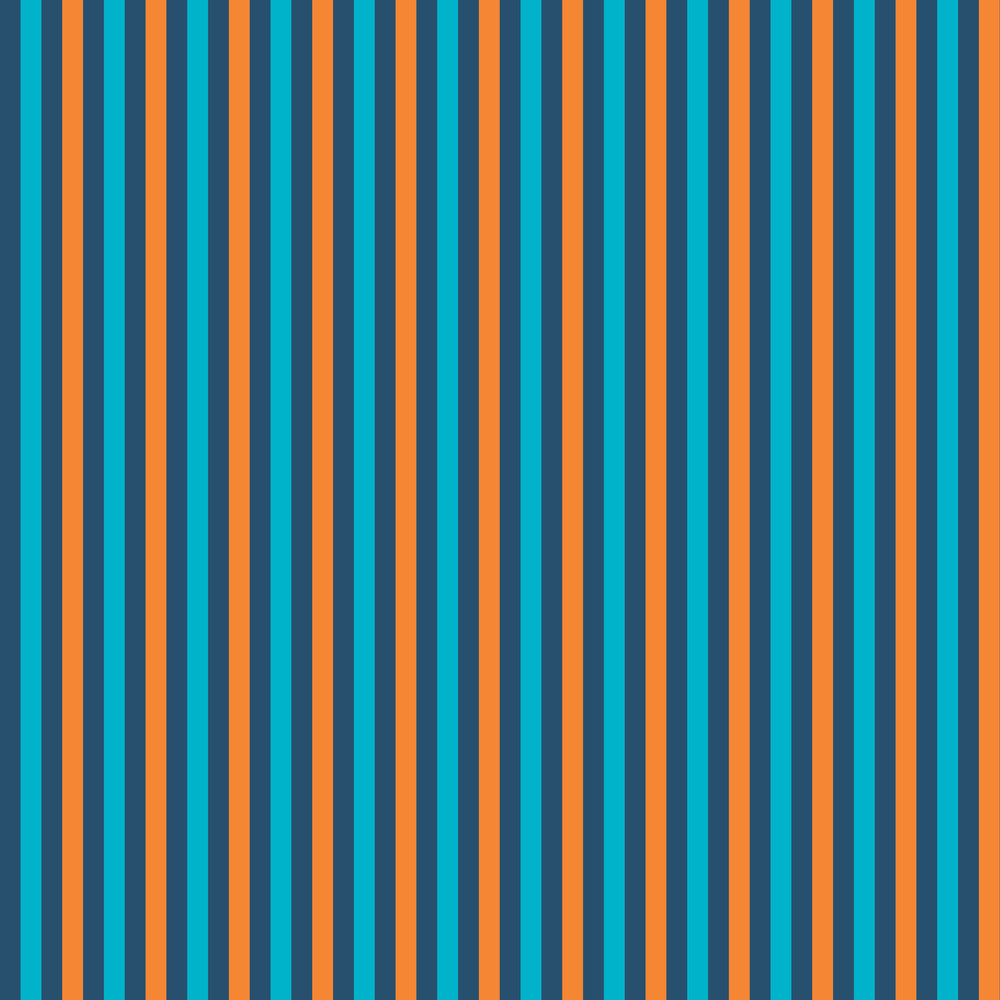 Blue And Orange Striped Pattern