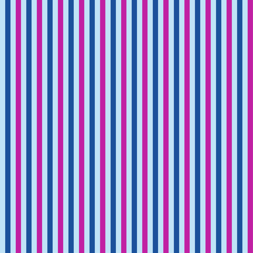 Blue And Purple Striped Pattern On Frozen Inspired Paper