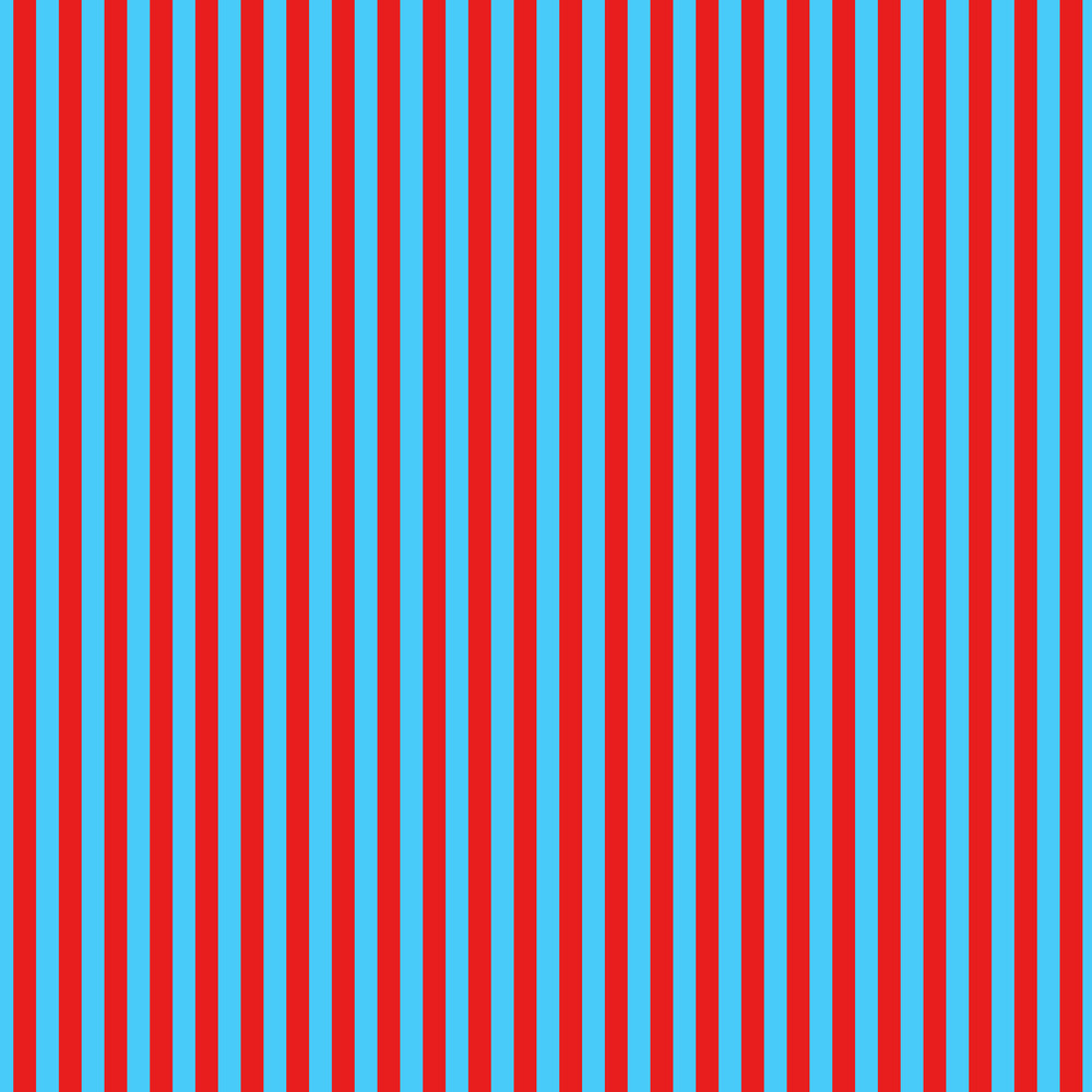 Blue And Red Striped Pattern On Dr. Seuss Paper