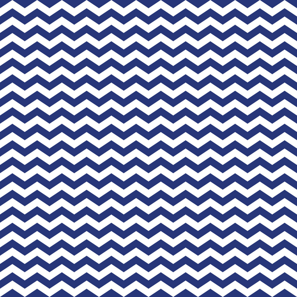 Blue And White Chevron Pattern On England Paper
