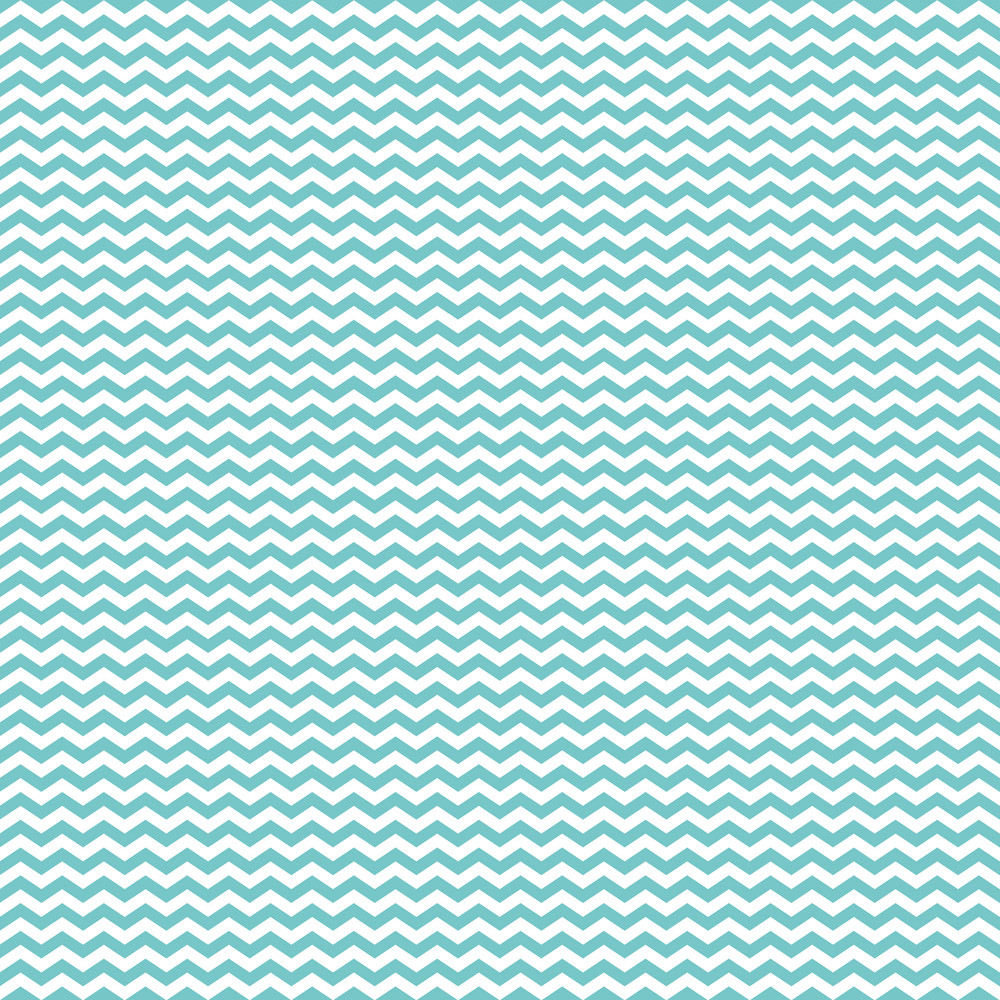 Blue And White Chevron Pattern On Hot Air Balloon Paper