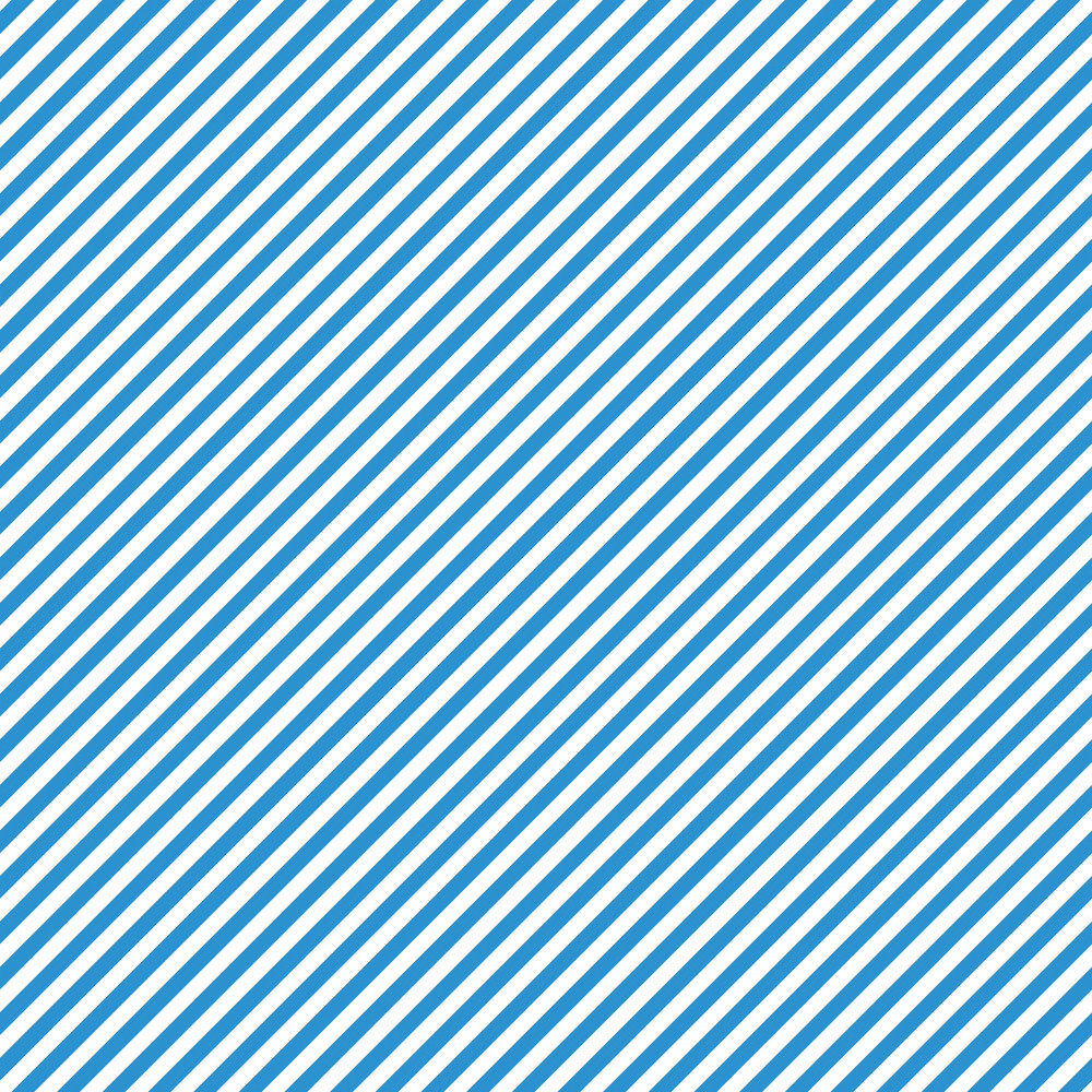 Blue And White Diagonal Striped Pattern On Frozen Inspired Paper
