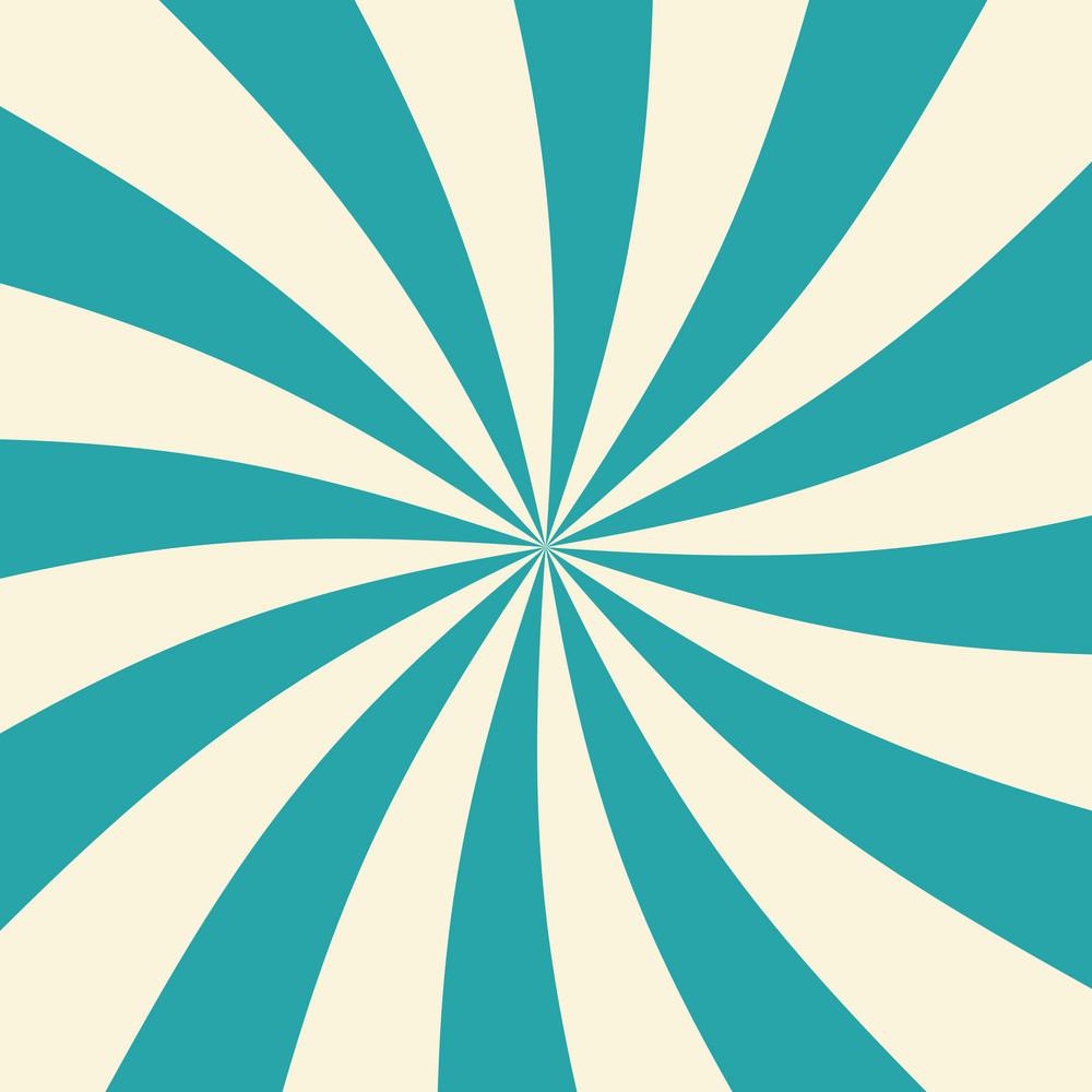 Blue And White Swirl Circus Pattern