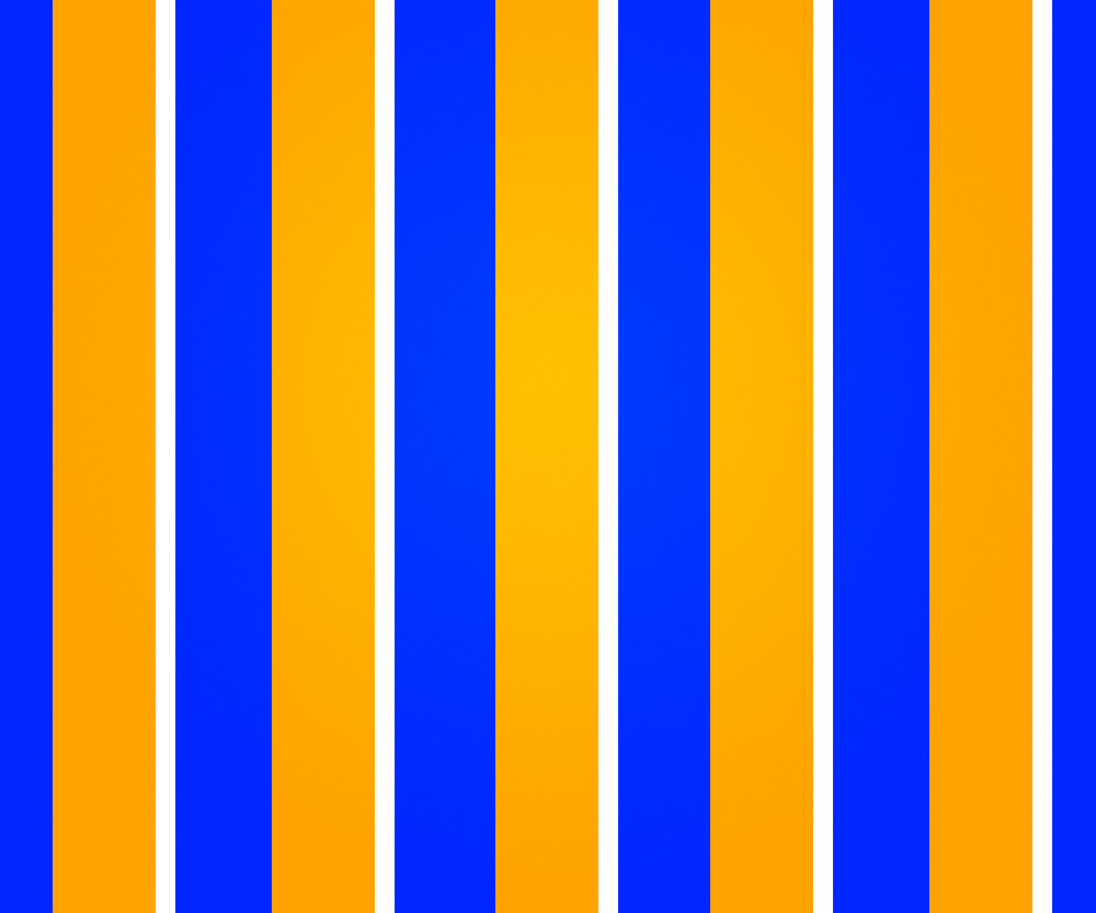 Blue And Yellow Lines Backdrop