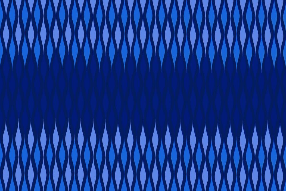 Blue Art Pattern
