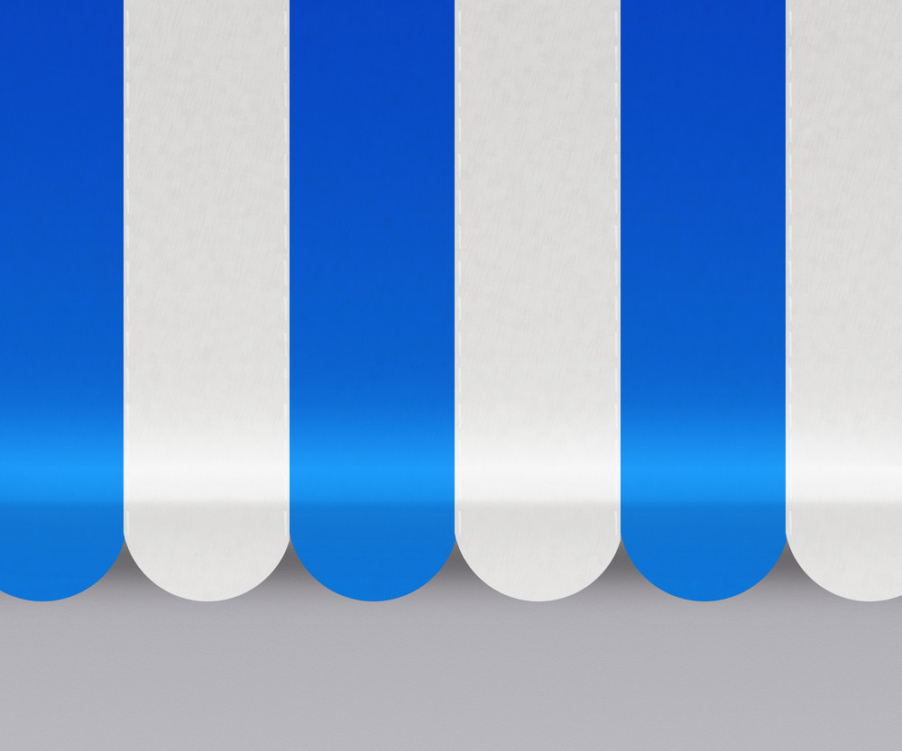 Blue Awnings Background