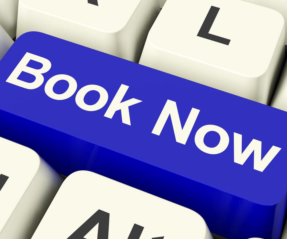 Blue Book Now Key For Hotel Or Flight Reservation Online