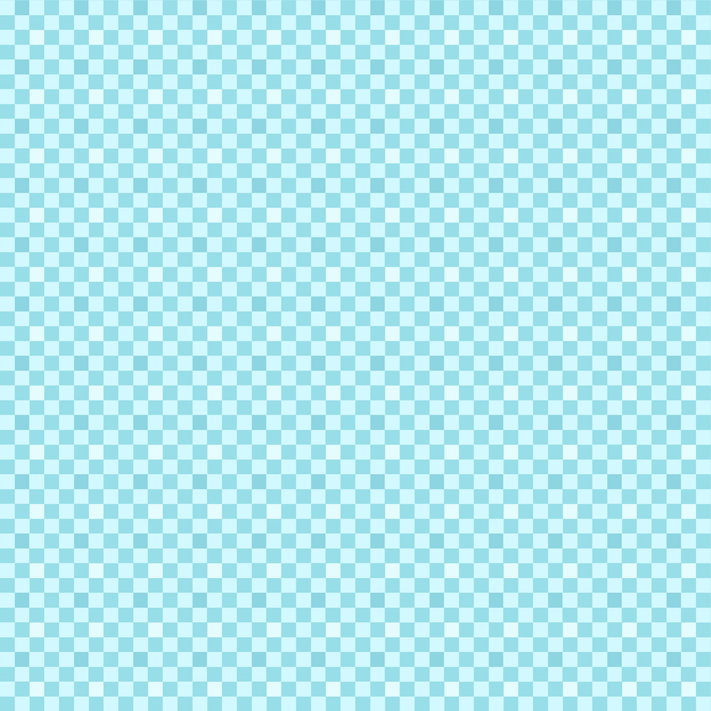 Blue Checkerboard Minecraft Pattern