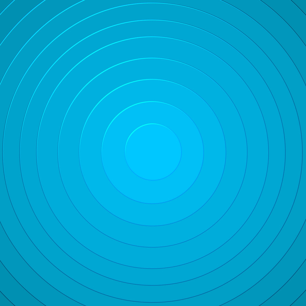 Blue Circles Pattern Background