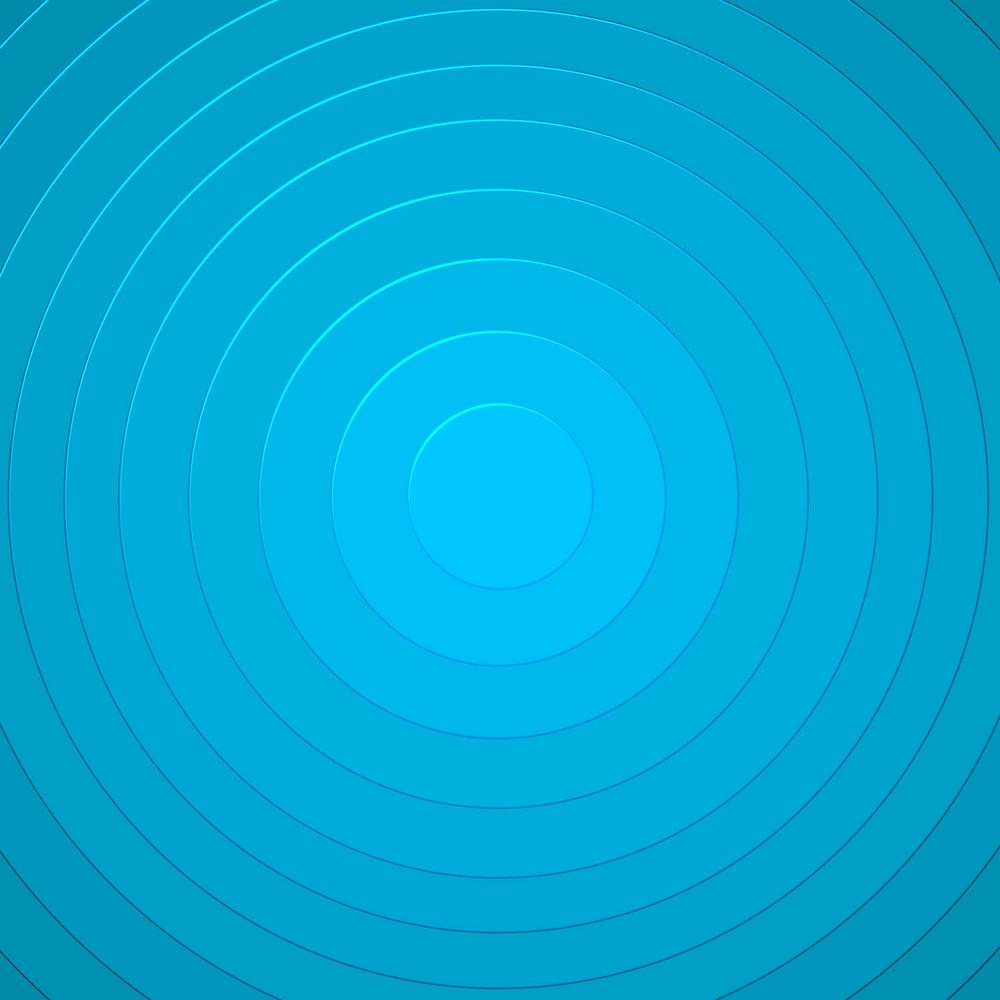 Blue Circles Pattern Background