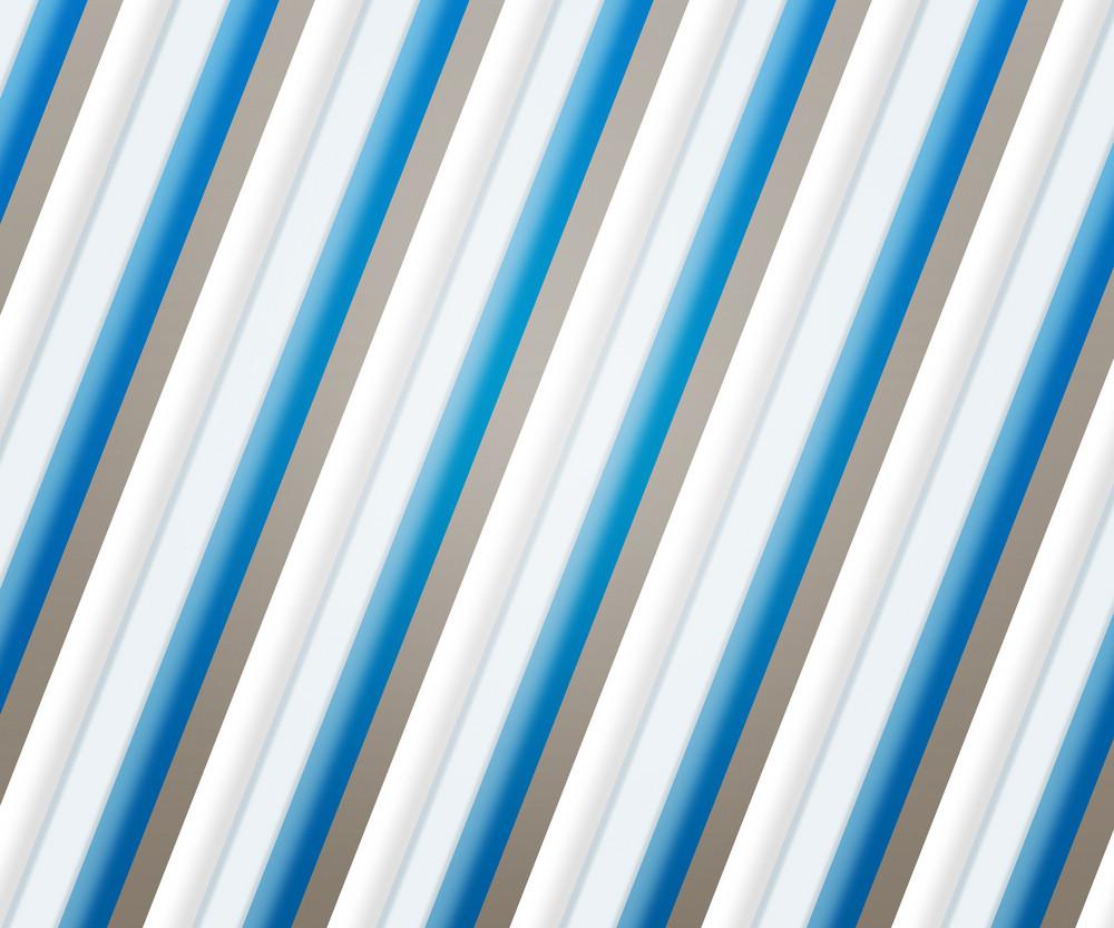 Blue Clean Stripes Backdrop
