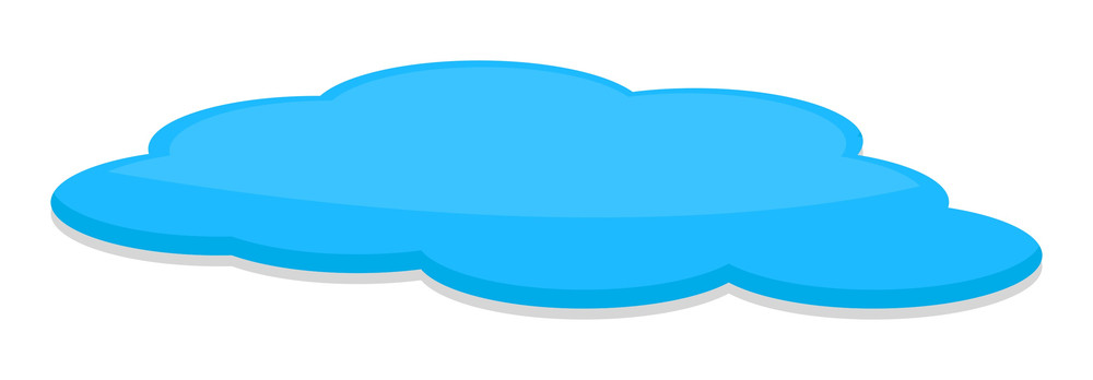 Blue Cloud Banner