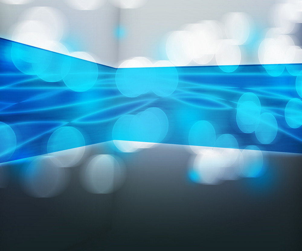 Blue Data Transfer Abstract Background