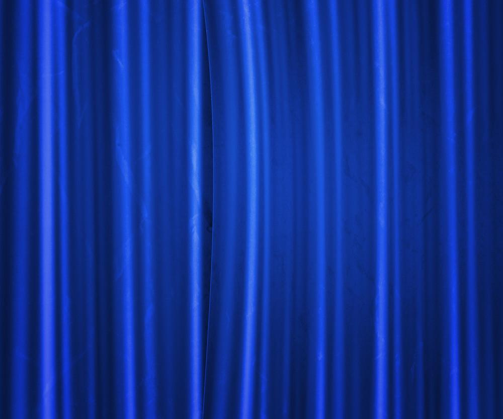 Blue Fabric Studio Backdrop