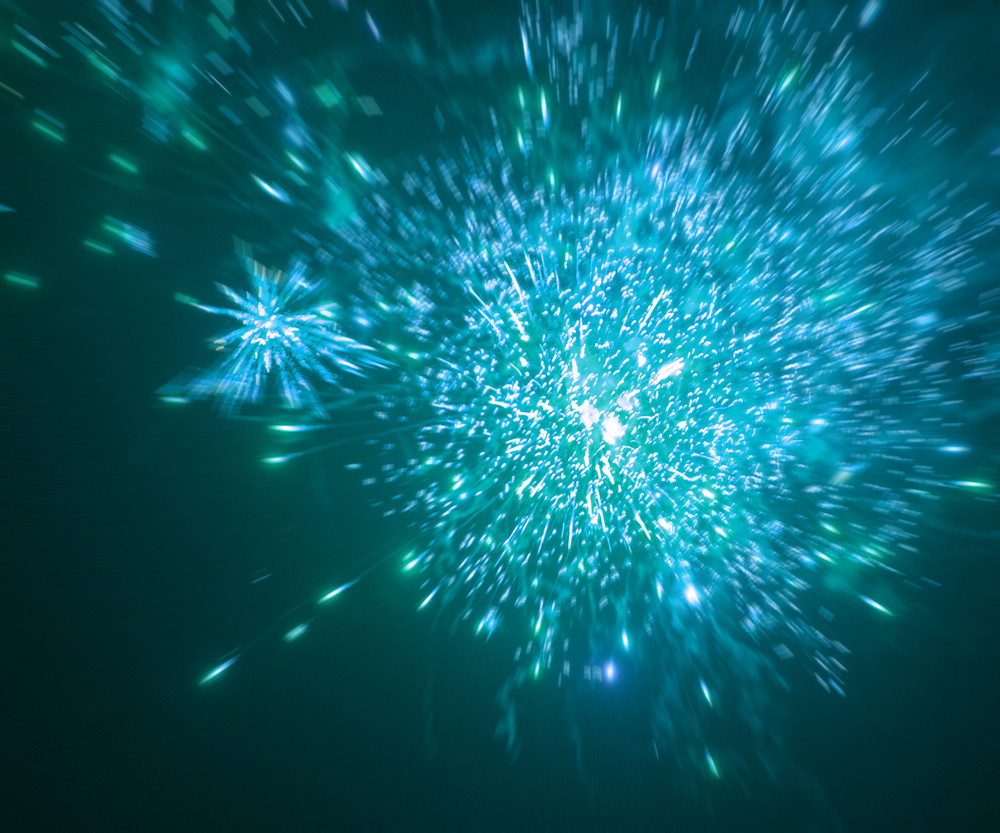 blue fireworks background royalty free stock image storyblocks