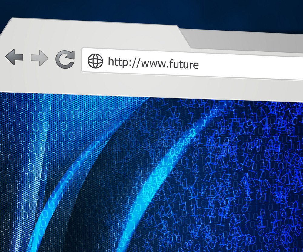 Blue Futurel Web Browser