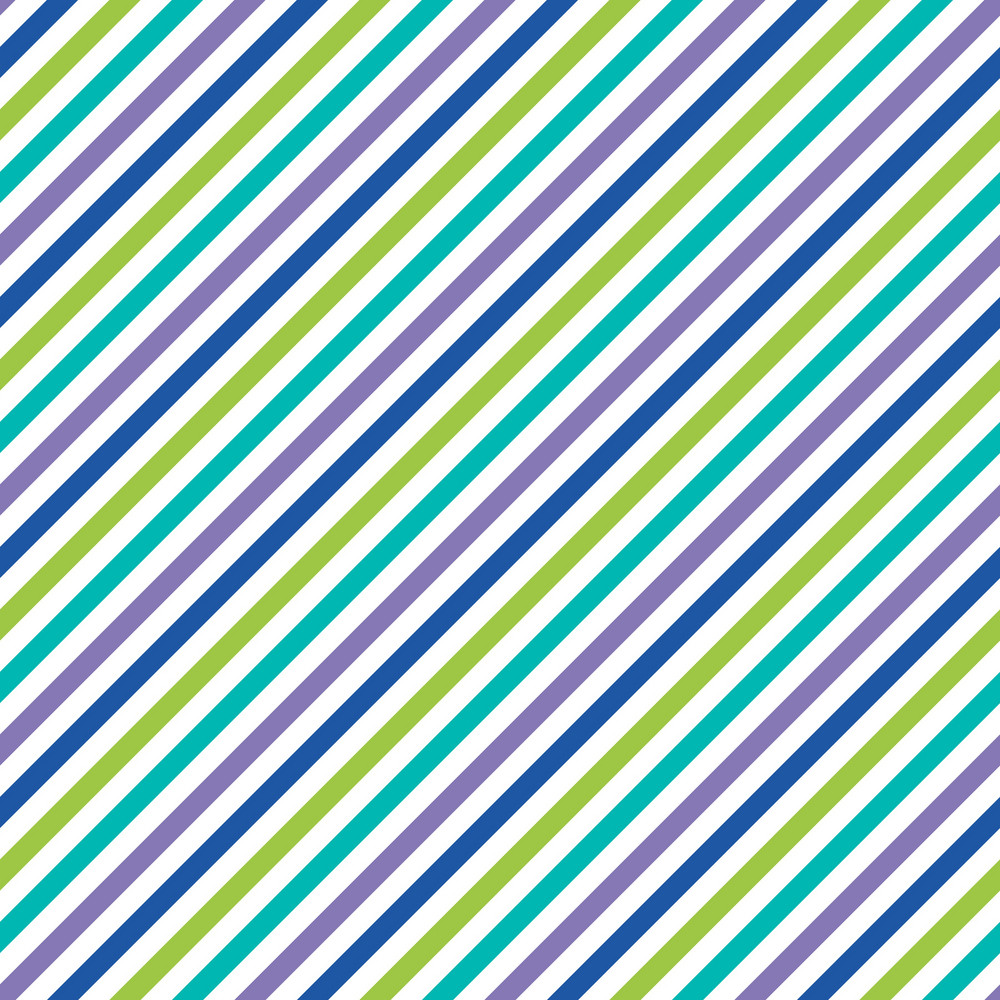 Blue Green And Grey Living Room: Blue, Green, White, And Purple Diagonal Stripes Pattern On
