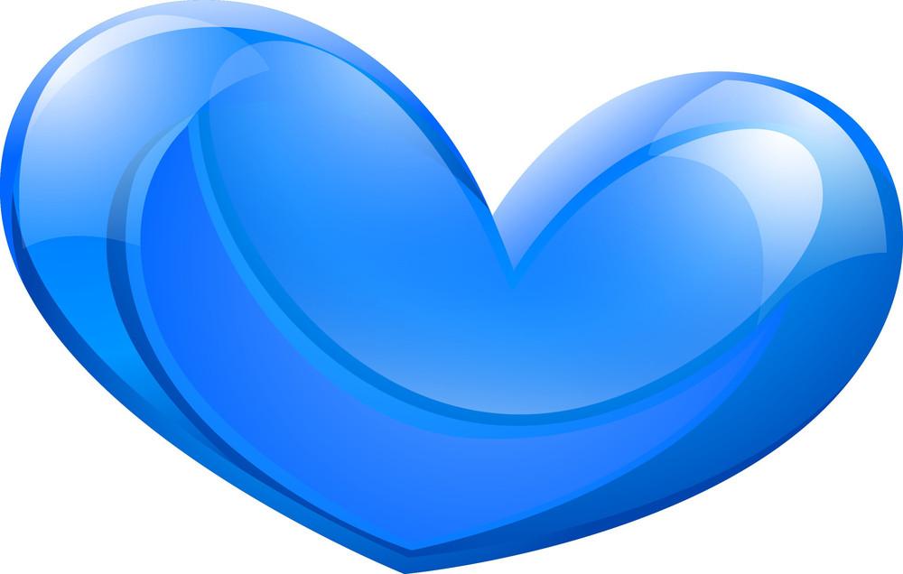 Blue Heart Design