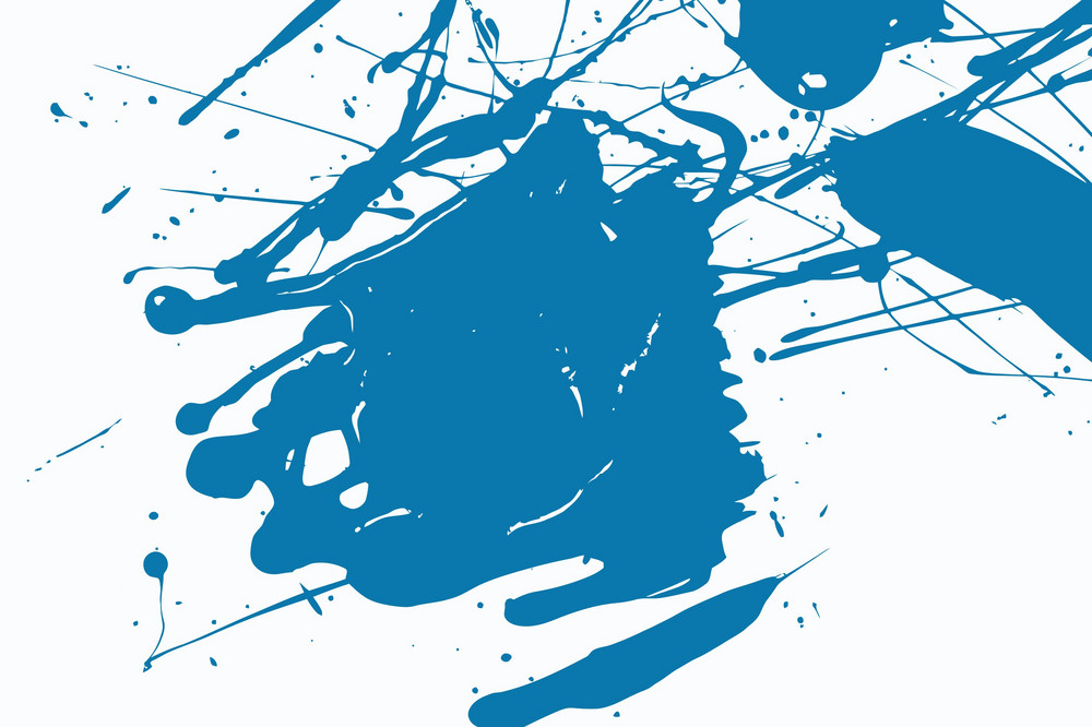 Blue Inks Vector