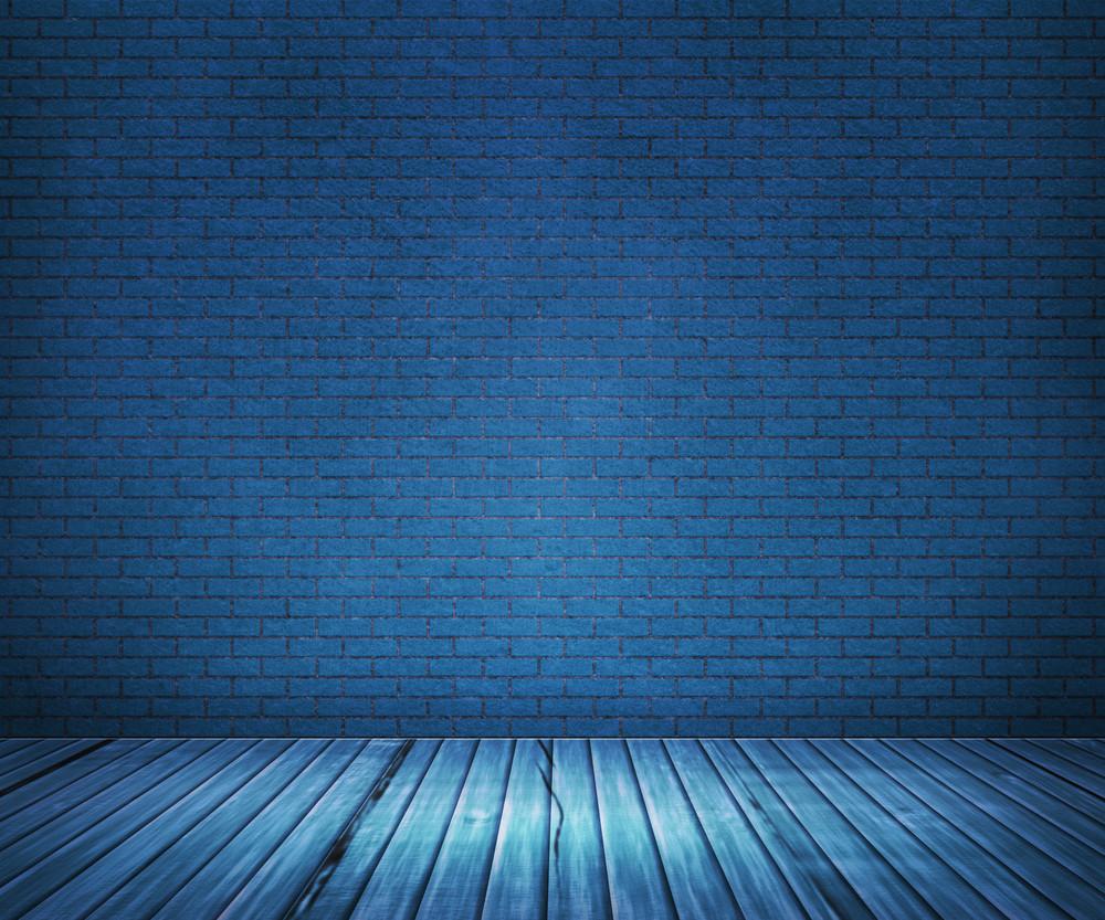 Blue Interior Backdrop