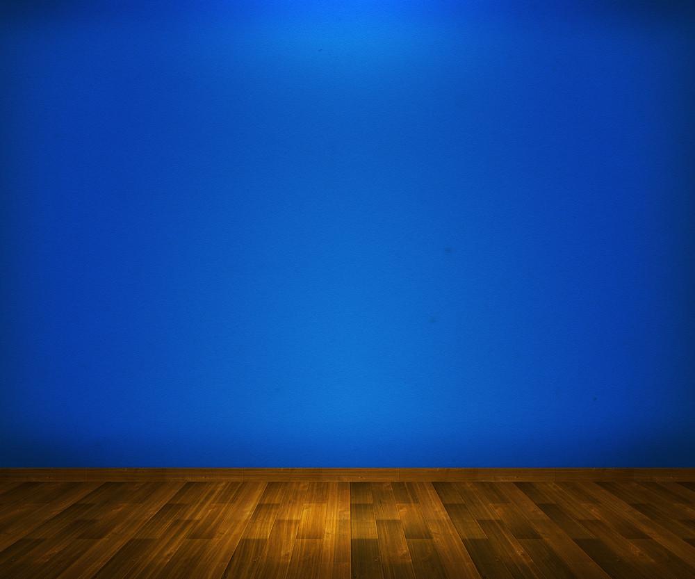 Blue Interior Background