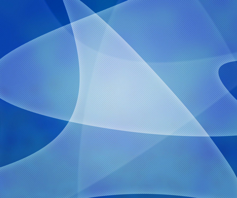 Blue Light Shapes Background