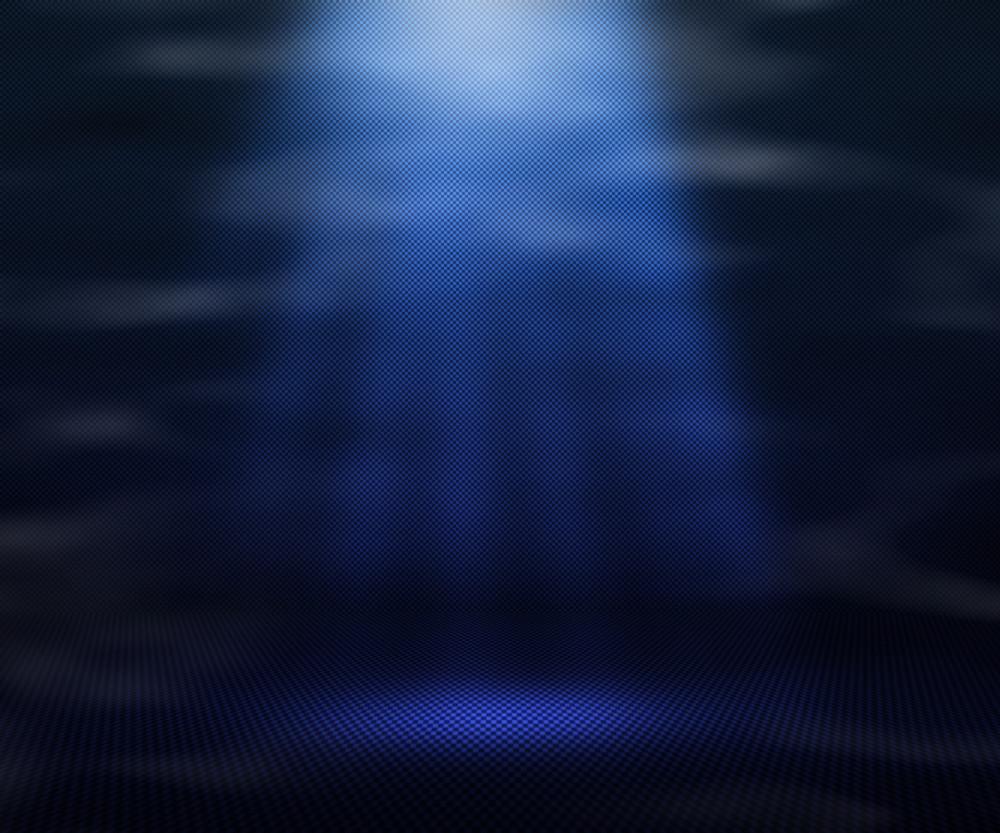 Blue Magic Spot Light Background
