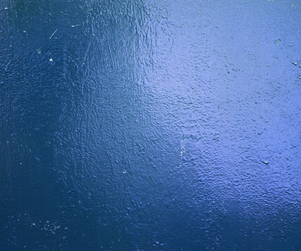 Blue Painted Metal Texture