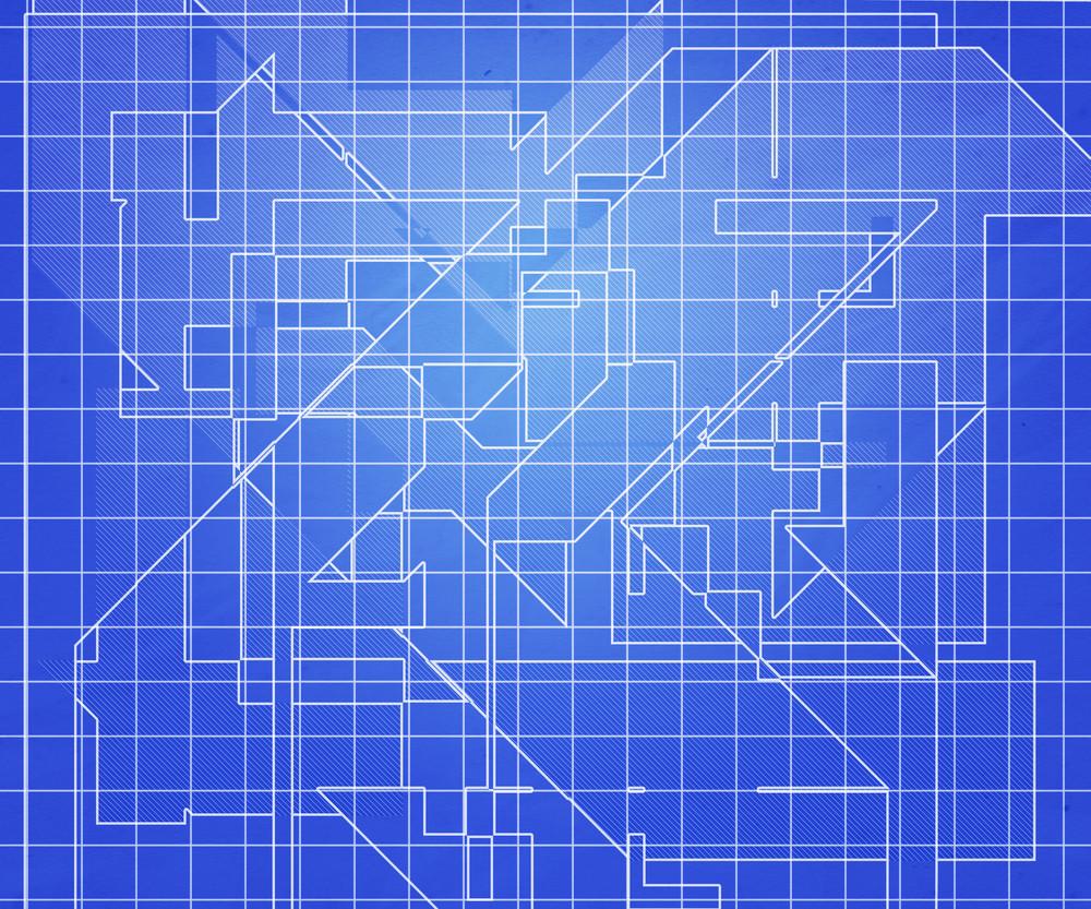 Blue Plan Texture