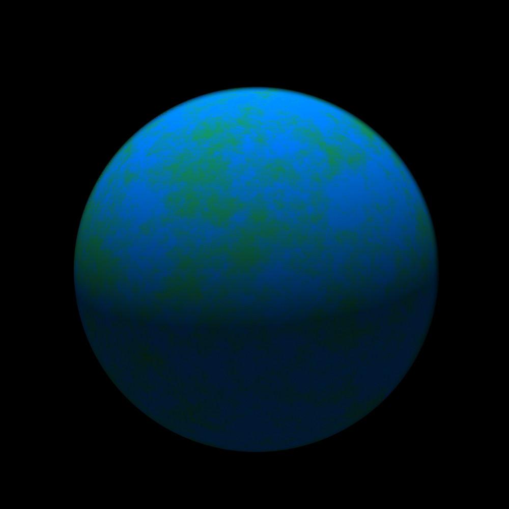 Blue Planet No Coriolis Effect