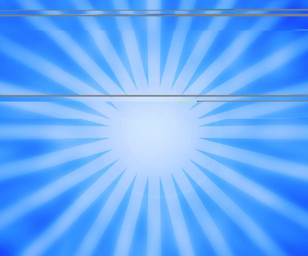 Blue Rays Background