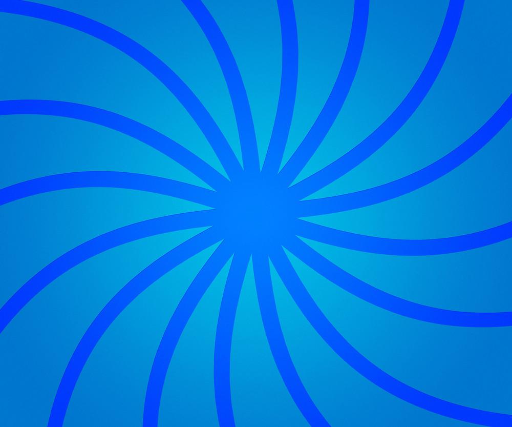 Blue Retro Rays Backdrop