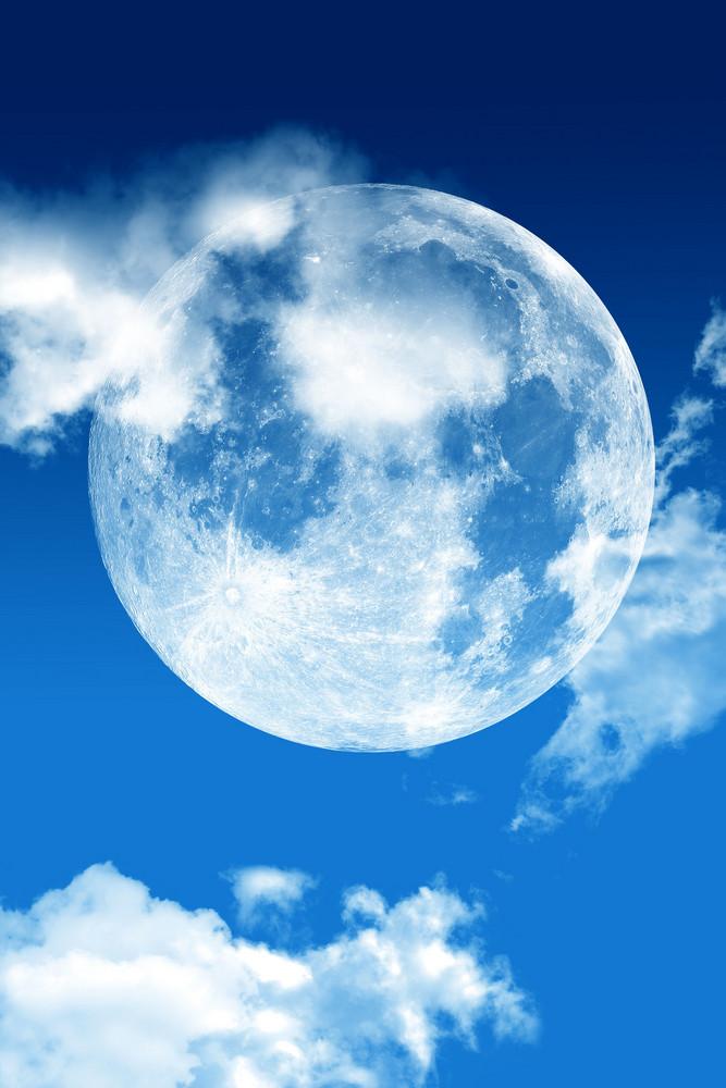 Blue Sky Moon