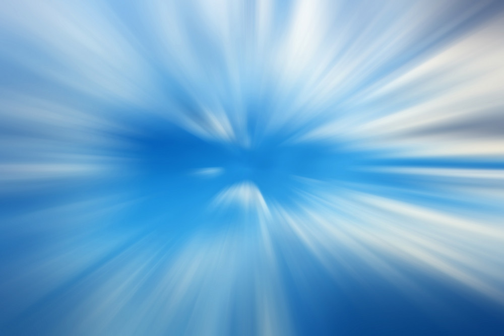 Blue Speed Effect