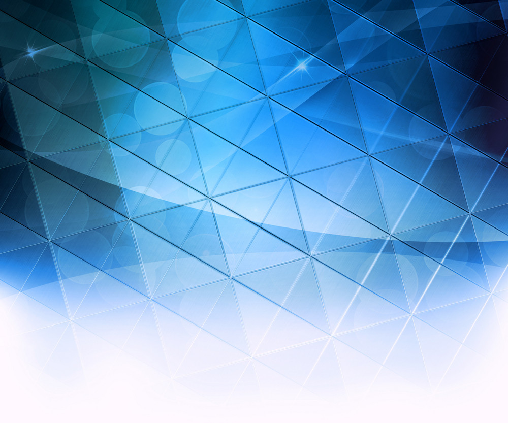 Blue Squares Abstract Background