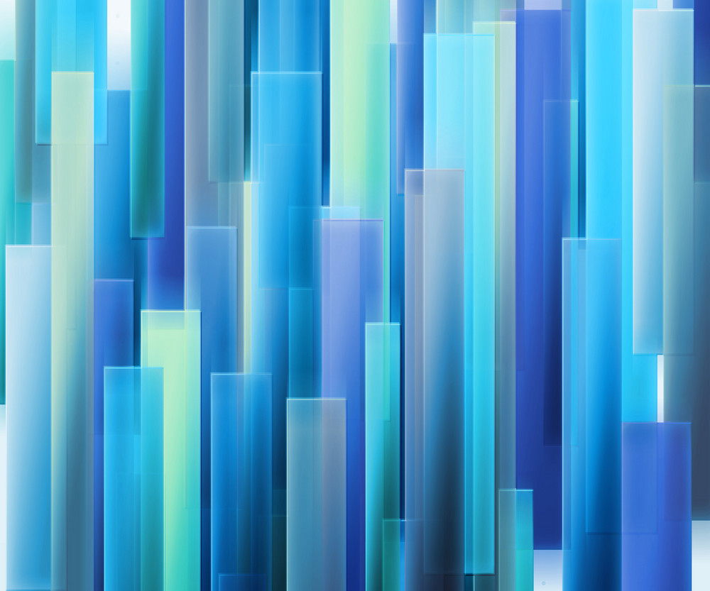 Blue Strips Abstract Background