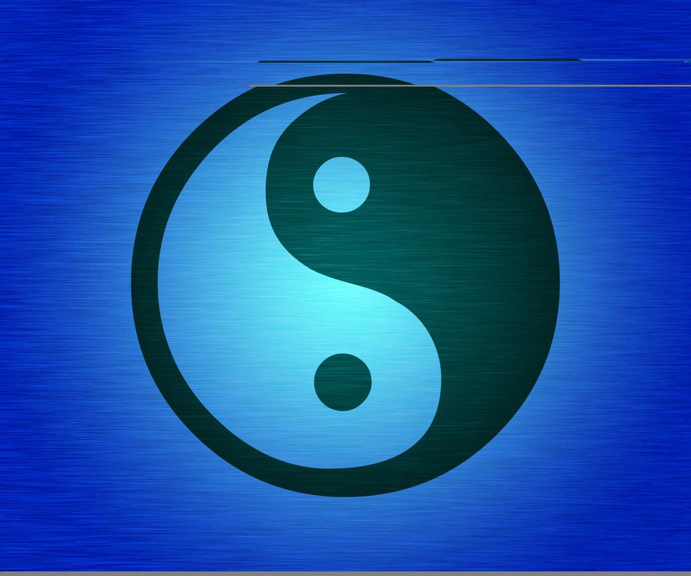 Blue Tao Background