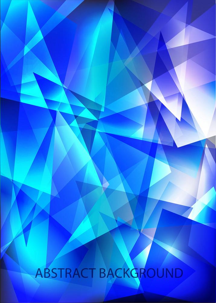 Blue Techno Shiny