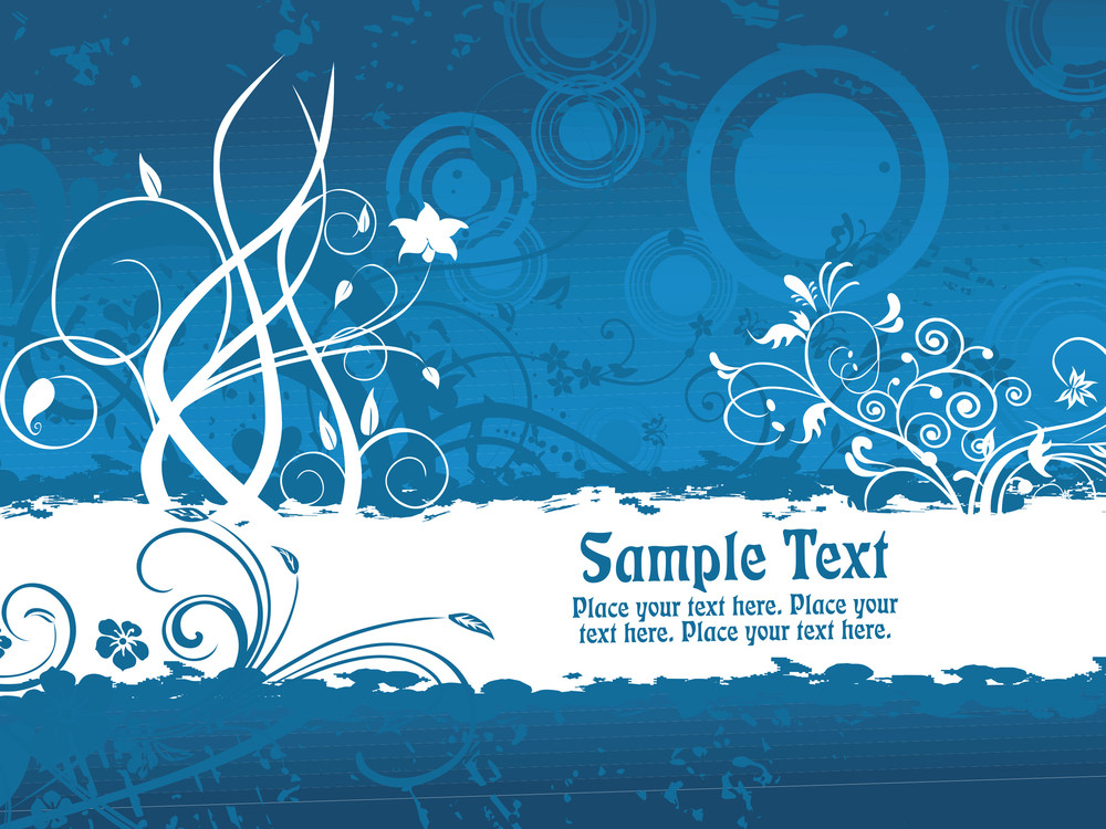Blue Texture Background With Banner Royalty-Free Stock Image ...