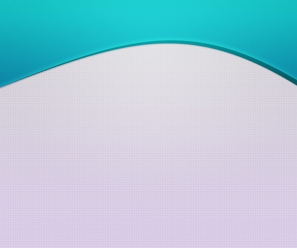 Blue Top Wave Simple Background