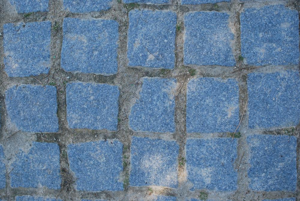 Blue Typical 'calÁada' Pavement
