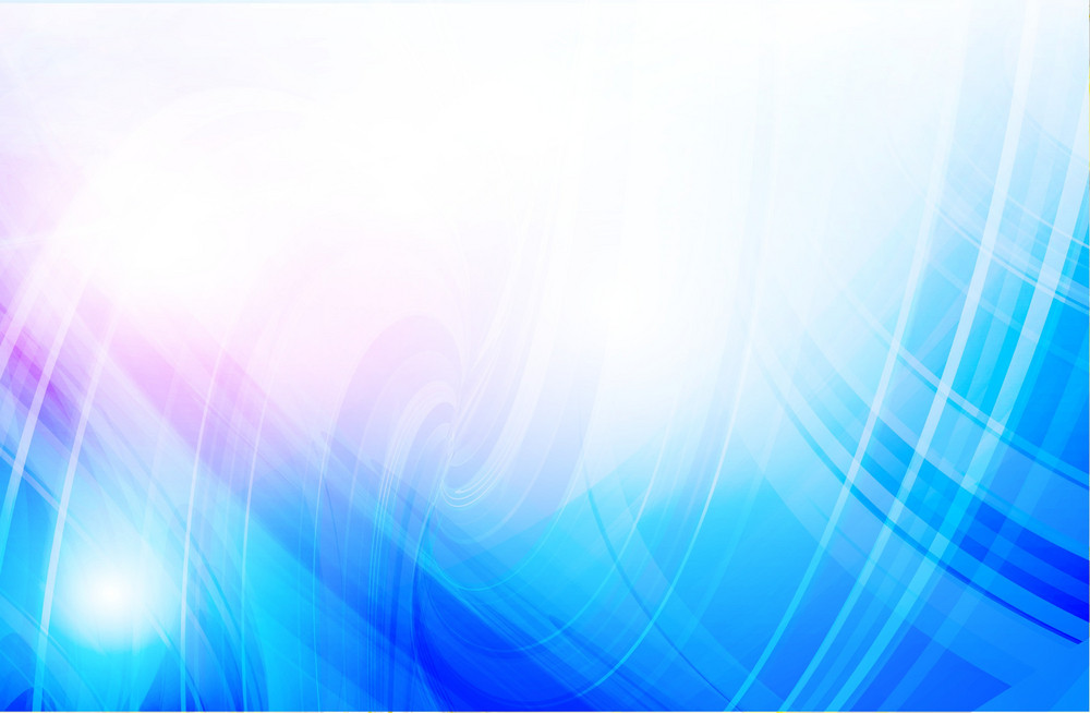 Blue Whirl Vector Background