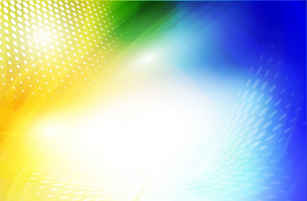 Blue-yellow Abstract Background