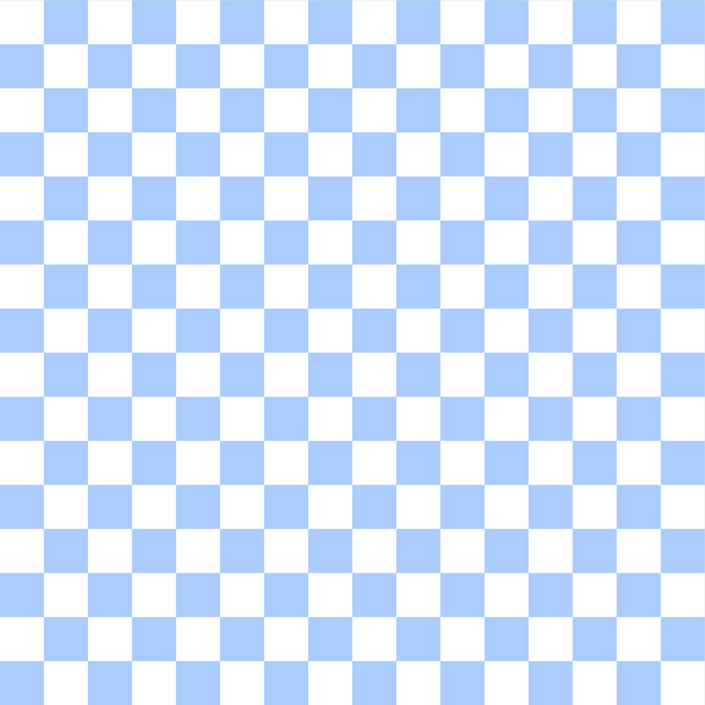 Blue And White Checkerboard Pattern