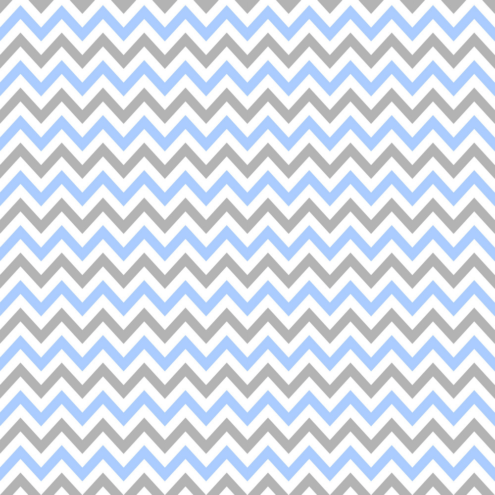 Blue, Purple, And White Chevron Pattern