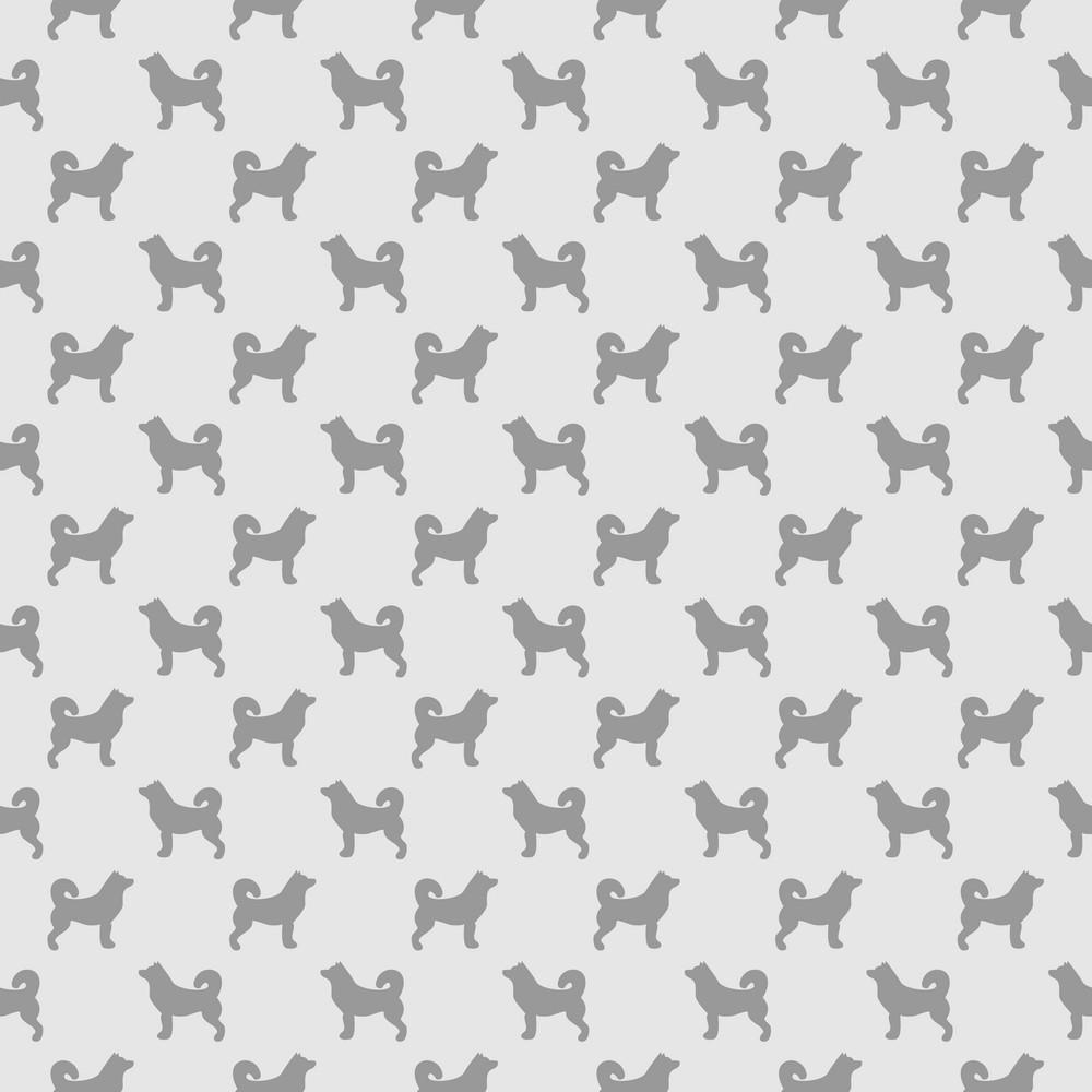 Purple Dog Pattern